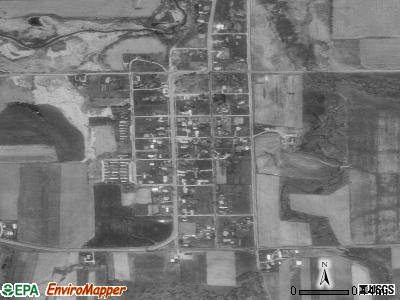 Ironton satellite photo by USGS