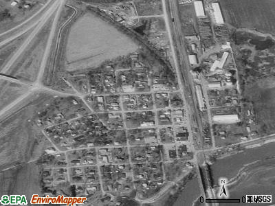 Old Monroe satellite photo by USGS