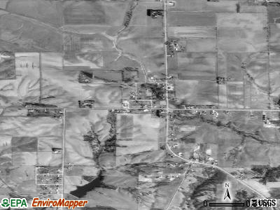 Shueyville satellite photo by USGS
