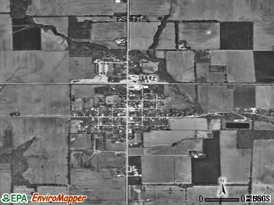 Willow Hill satellite photo by USGS