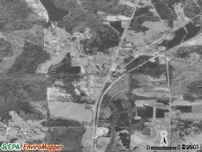 Macy satellite photo by USGS