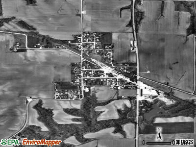 Alsey satellite photo by USGS