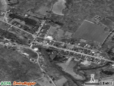 Shanksville satellite photo by USGS