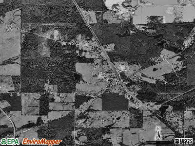 Heflin satellite photo by USGS