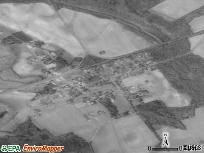 Kelford satellite photo by USGS