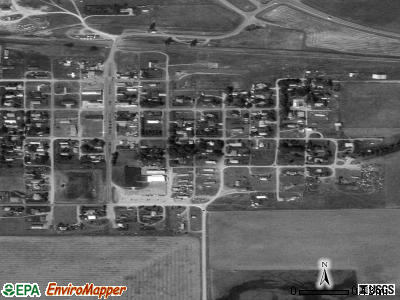 Hobson satellite photo by USGS