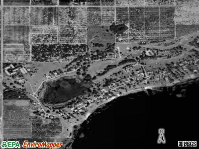Highland Park satellite photo by USGS