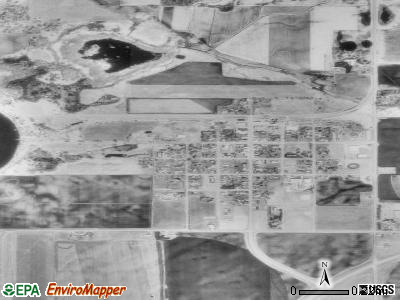 Villard satellite photo by USGS