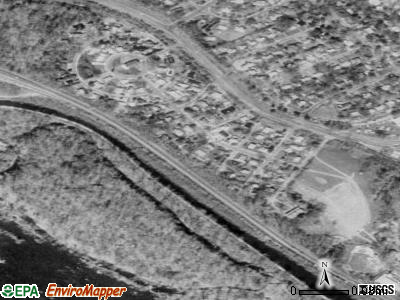 Glen Echo satellite photo by USGS