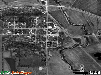 Dunbar satellite photo by USGS