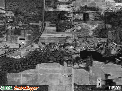Breedsville satellite photo by USGS