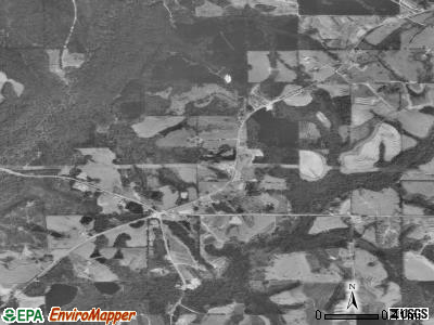 Horn Hill satellite photo by USGS