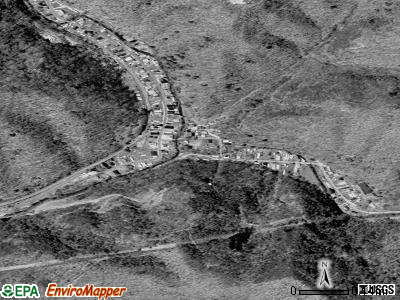 Rhodell satellite photo by USGS