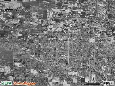 West Valley City satellite photo by USGS
