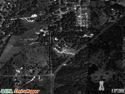 Hays satellite photo by USGS