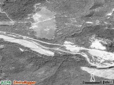 Idanha satellite photo by USGS