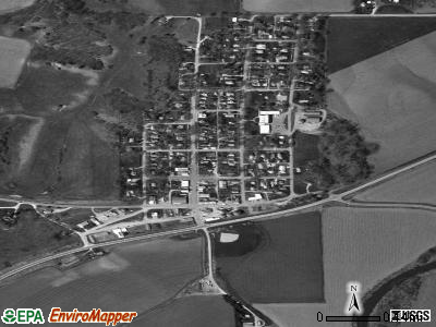 Moorhead satellite photo by USGS