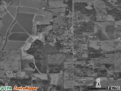 Newbern satellite photo by USGS