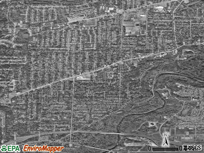 Fairview Park satellite photo by USGS