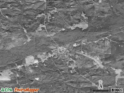 Beaverton satellite photo by USGS