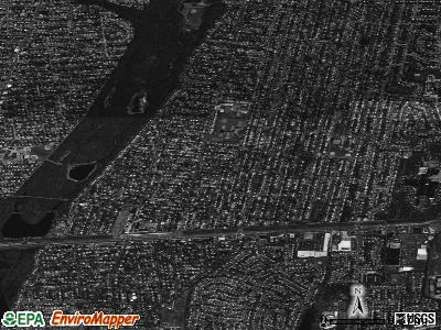 Massapequa Park satellite photo by USGS