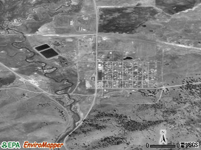 Seneca satellite photo by USGS