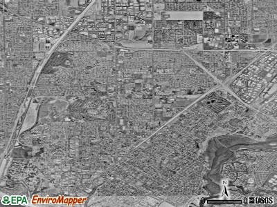 Costa Mesa satellite photo by USGS