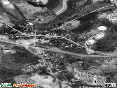 Adamsburg satellite photo by USGS