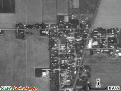 Jonesville satellite photo by USGS
