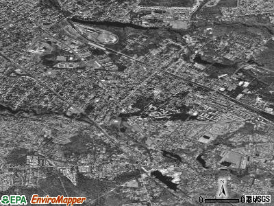 Lindenwold satellite photo by USGS