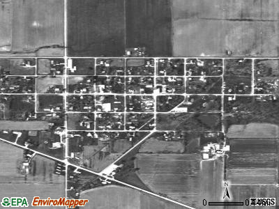 Shumway satellite photo by USGS