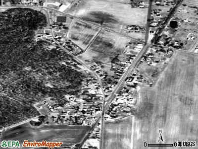 Goldsboro satellite photo by USGS