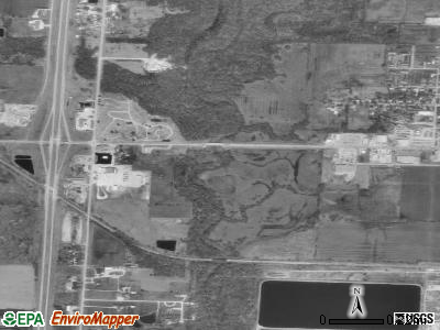Lamar Heights satellite photo by USGS