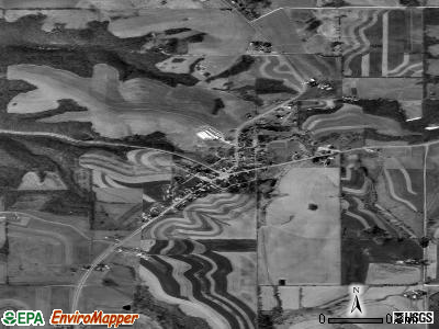 Mount Sterling satellite photo by USGS