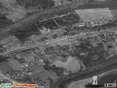 Worthville satellite photo by USGS