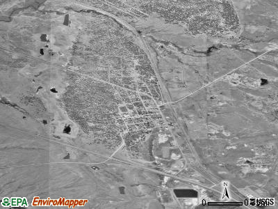 Osage satellite photo by USGS