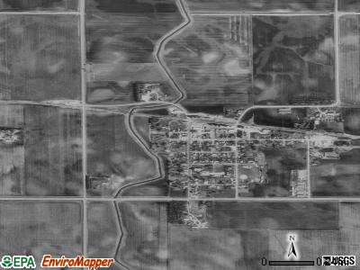 Easton satellite photo by USGS