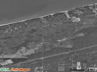 Dune Acres satellite photo by USGS