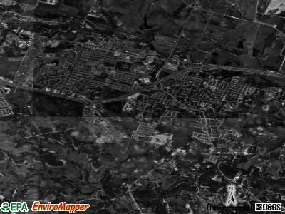 Harker Heights satellite photo by USGS
