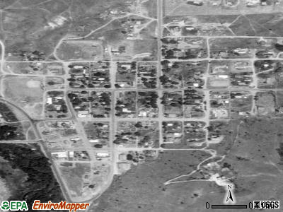 Nespelem satellite photo by USGS