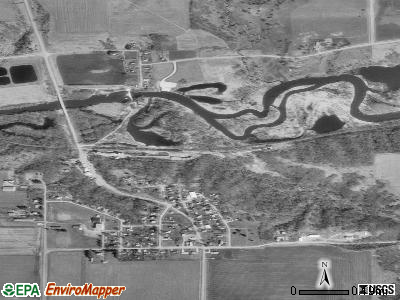 Linn Grove satellite photo by USGS