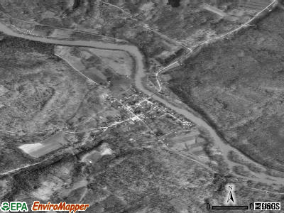 Utica satellite photo by USGS