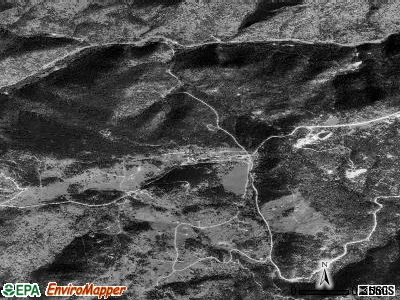 Gold Hill satellite photo by USGS