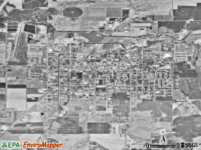 Rexburg satellite photo by USGS