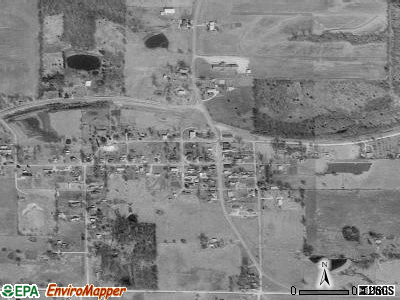 Rayville satellite photo by USGS