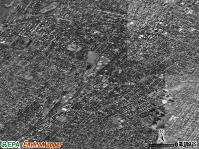 South Orange satellite photo by USGS