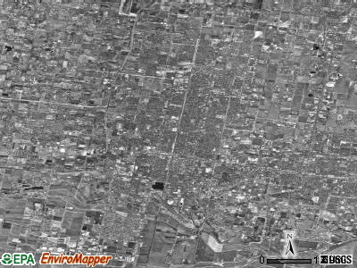 McAllen satellite photo by USGS