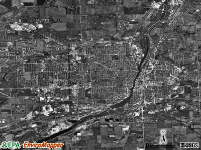 Joliet satellite photo by USGS