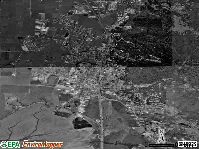 Arcata satellite photo by USGS