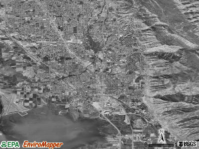 Provo satellite photo by USGS